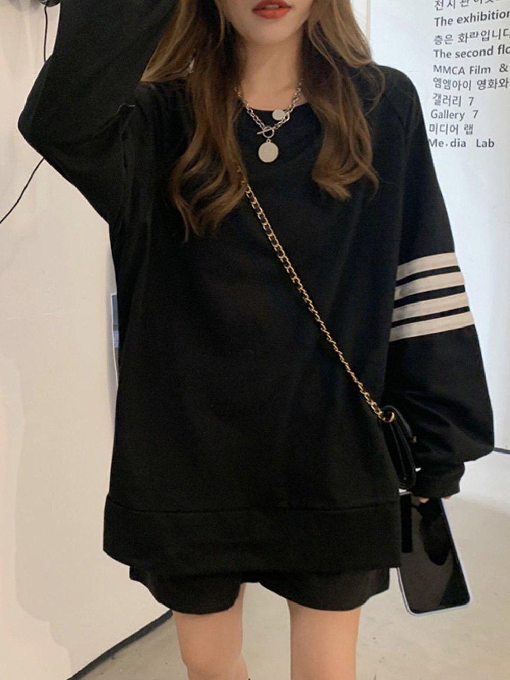【広州仕入れ】フードレスジャケットセーター
