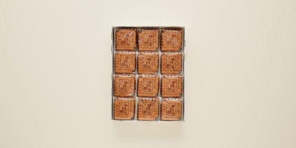 上昇大凧 瓦せんべい 48枚(4枚×12袋)
