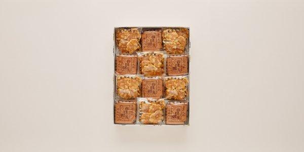 瓦せんべい18枚(3枚×6袋)/ビンズ(40g×6袋)