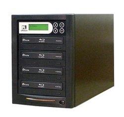 1:4 Blu-Ray/DVD/CDコピー機