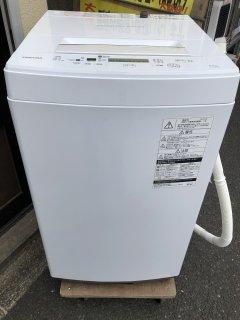 TOSHIBA AW-45M5 4.5kg洗濯機 ホワイト