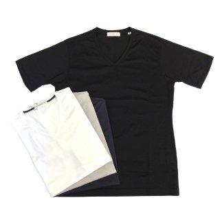 TOMORROWLAND トゥモローランド メンズ ギザコットン VネックTシャツ