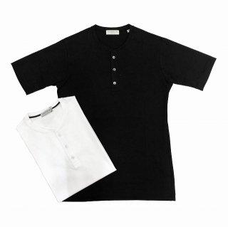 TOMORROWLAND トゥモローランド メンズ SUVIN COTTON ヘンリーネックTシャツ