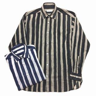 TOMORROWLAND トゥモローランド メンズ ボールドストライプ ビッグシャツ
