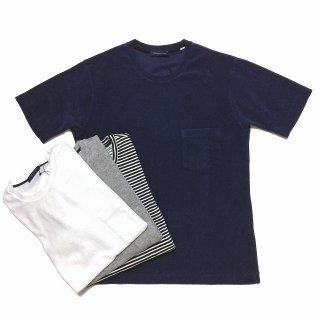 TOMORROWLAND トゥモローランド メンズ クルーネック パイルTシャツ