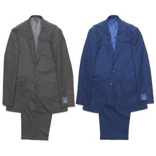 TOMORROWLAND トゥモローランド メンズ DRAGO BLUE FEEL グレンチェック 2Bスーツ