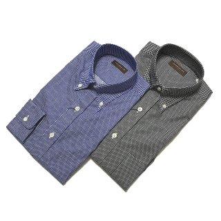 TOMORROWLAND トゥモローランド メンズ ドビーチェック ボタンダウンシャツ