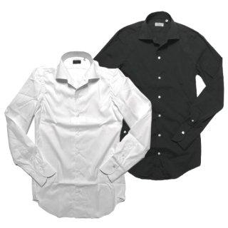 Finamore フィナモレ CAPRI ELBA カプリ エルバ ストレッチブロード ワンピースカラーシャツ