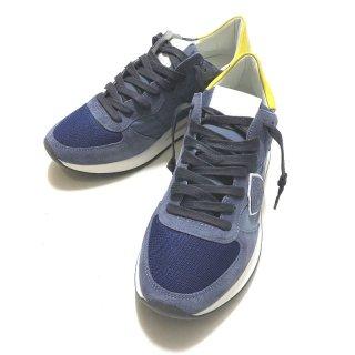 PHILIPPE MODEL フィリップ モデル TRPX MONDIAL BLUE JAUNE スニーカー ブルー