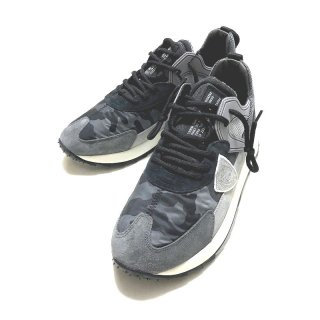 PHILIPPE MODEL フィリップ モデル ROYALE CAMOUFLAGE ANTHRACITE スニーカー グレー カモフラージュ <img class='new_mark_img2' src='https://img.shop-pro.jp/img/new/icons2.gif' style='border:none;display:inline;margin:0px;padding:0px;width:auto;' />
