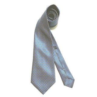 STEFANO RICCI ステファノ リッチ ネクタイ シルク 小紋柄 プリントタイ BLUE