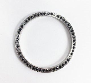 【オーダー品】Rolex ロレックス デイトジャスト メンズ36� ブラックダイヤベゼル アフターダイヤ