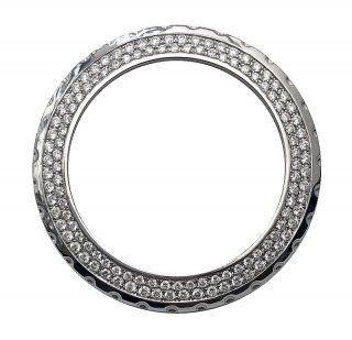 【即納】CHANEL シャネル J12 メンズ クロノグラフ 41mm用 天然ダイヤ アフターダイヤベゼル 鑑別書付き VSクラスダイヤモンド