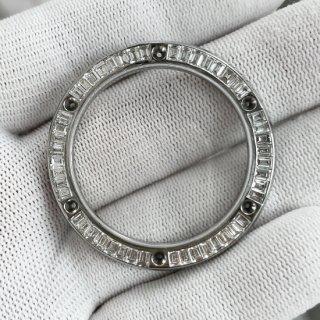 【オーダー品】HUBLOT ウブロ クラシックフュージョン用 アフターバケットダイヤベゼル 天然ダイヤ サファイアガラス使用