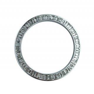 【即納】デイトナ用 K18WG アフターバケットダイヤ 社外ベゼル 116520 16520 鑑別書 天然ダイヤモンド