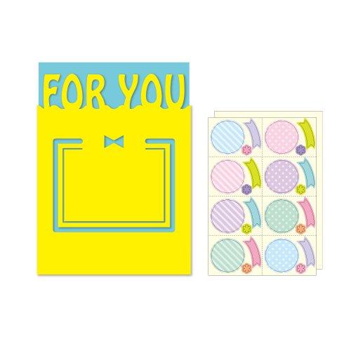 MC-002 メッセージケース付き 色紙 FOR YOU