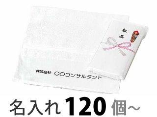 名入れタオル 国産純白ソフトタオル220型(E500-06)