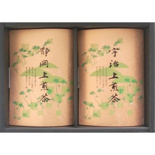 【20%OFF】静岡 上煎茶・宇治 上煎茶 (KG-25)