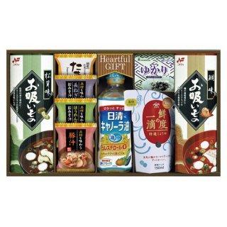 【送料無料】 日清キャノーラ油&鮮度の一滴しょうゆ詰合せ ( 21M19-10 )