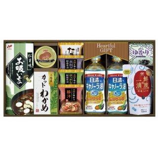 【送料無料】 日清キャノーラ油&鮮度の一滴しょうゆ詰合せ ( 21M19-12 )