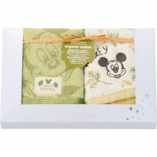 ミッキーマウス レトロリーフ ウォッシュタオル2P(C2085510)