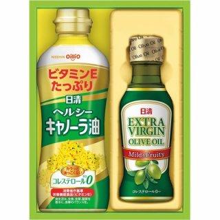 日清 オリーブオイル&バラエティオイルギフトセット(B6044514)