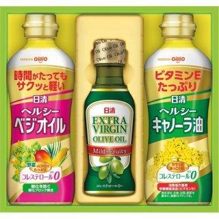 日清 オリーブオイル&バラエティオイルギフトセット(B6058515)