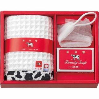 牛乳石鹸 石鹸&タオルセット(B6065657)