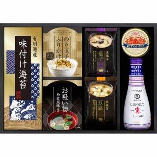 キッコーマン生しょうゆ&ニッスイかに缶詰合せ(B6091624)