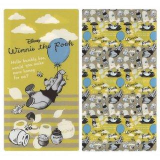 【メール便可】ディズニー 抗菌マスクケース 3ポケットタイプ 風船とプーさん(DSN-MSK3P-021)