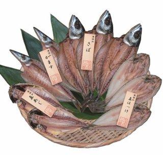【送料無料 産地直送】五島灘の塩 国産無添加干物 詰合せ(PFHI-005)
