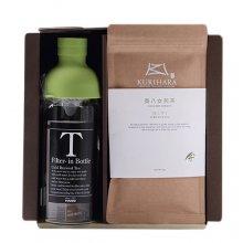 煎茶ミニ冷茶ボトルB(フィルターインボトル300ml×1、極上煎茶100g×1)