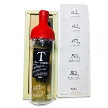 煎茶ロング冷茶ボトルA (フィルターインボトル750ml×1、極上煎茶10g×5)