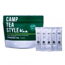 パウダー緑茶(粉末緑茶)スティック タイプ CAMP TEA STYLE 煎茶(媛しずく)スティック 0.8g×20袋