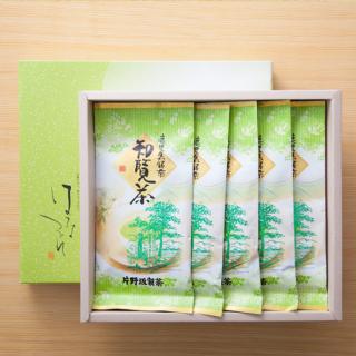 玄米茶 知覧茶 煎茶100g×5本セット 【K-5】