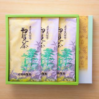 粉茶 【 K-2】 知覧茶100g×3本