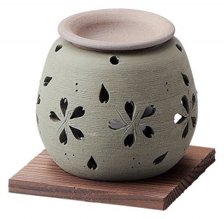 茶香炉 石龍緑桜茶香炉