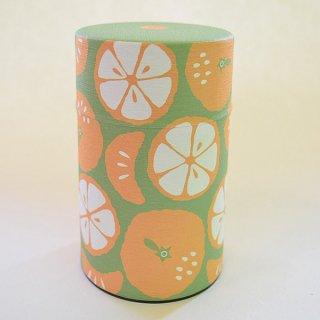 〜500円 和紙缶 みかん