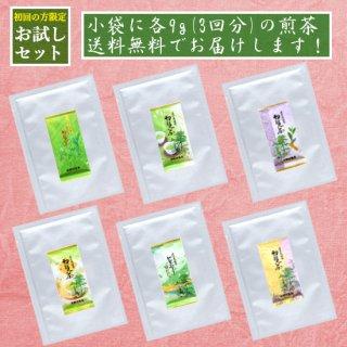 〜500円 初回限定 煎茶 お試しセット お1人様2セットまで メール便で送料無料