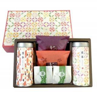 茶器・雑貨 お中元 知覧茶 お茶と和菓子 ありがとうセットA
