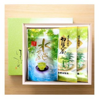 3000円〜5000円 煎茶100g×2 水出し煎茶(5g×20)×1