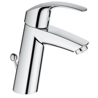 ユーロスマート シングルレバー洗面混合栓(引棒付)