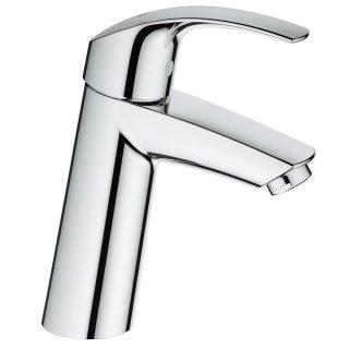 ユーロスマート シングルレバー洗面混合栓(引棒なし)