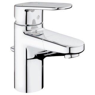 ユーロプラス シングルレバー洗面混合栓吐水口引出タイプ コールドスタート仕様(引棒付)