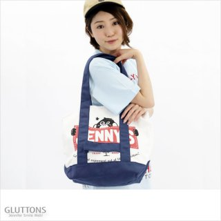 【Gluttons】Jenniferと一緒☆ツートンBIGトート
