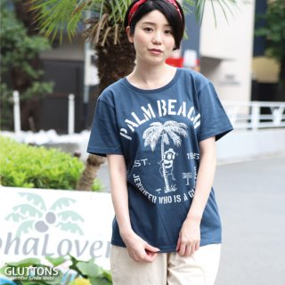 【Gluttons】ヤシの木からこんにちは☆♪ジェニファーTシャツ