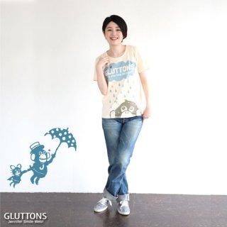 【Gluttons】ジェニ&エド☆雨の日も大好き!Tシャツ