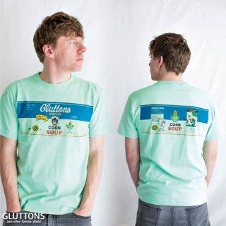【Gluttons】エドワードのコーンスープはいかが?メンズTシャツ