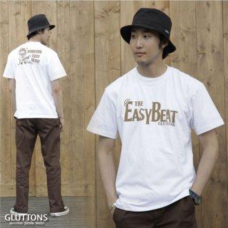 【Gluttons】EASY BEAT、メンズTシャツ