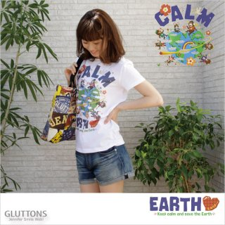 【Gluttons】大好きな仲間達と大好きな地球☆Tシャツ